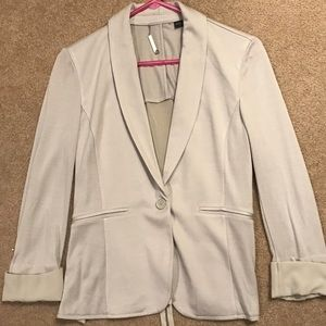 Armani Exchange gray blazer
